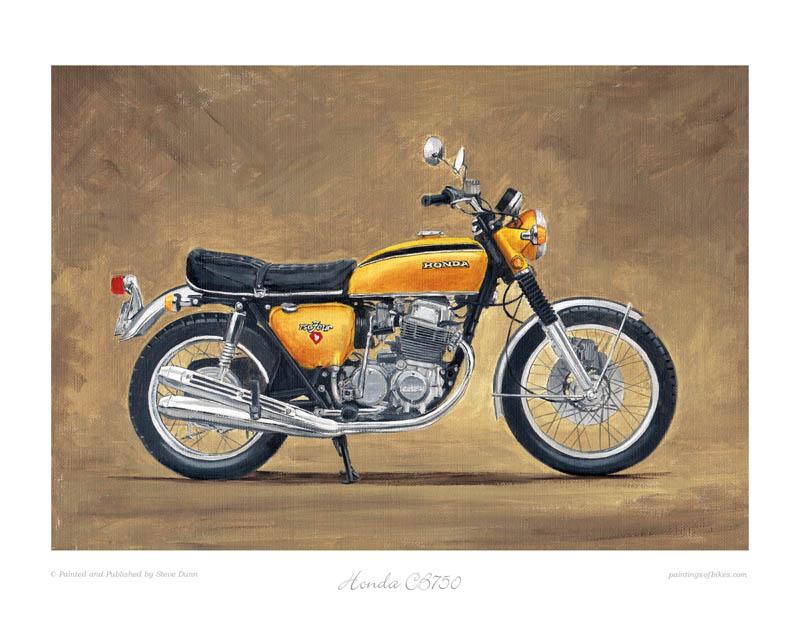 Motorcycle Honda  Art