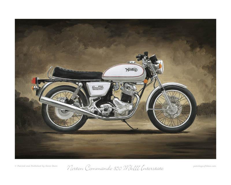 Norton Commando Motorcycle